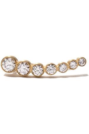 SOPHIE BILLE BRAHE 18kt petite Croissant De Lune diamond earring