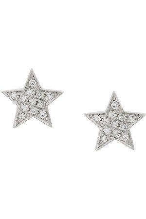 Dana Rebecca Designs Diamond and 14kt white Julianne Himiko Star Earrings