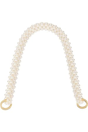 0711 Large pearl-beaded handle