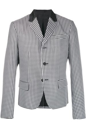 Haider Ackermann Houndstooth button jacket