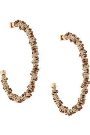 Jacquemus Les Creoles earrings - Neutrals