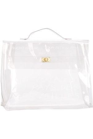Hermès Women Beach Bags - 1998 pre-owned Vinyl Kelly beach bag - Neutrals