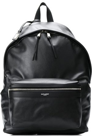 Saint Laurent City leather backpack