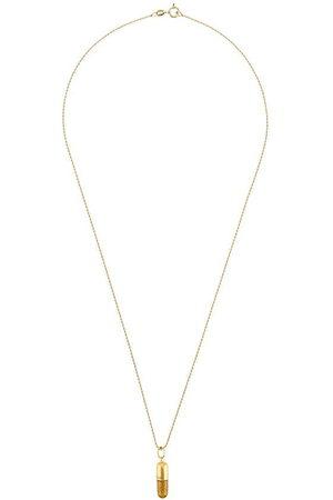 TRUE ROCKS Women Necklaces - Glitter Pill pendant necklace