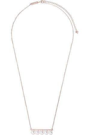 Tasaki 18kt rose Balance Signature necklace - SAKURA