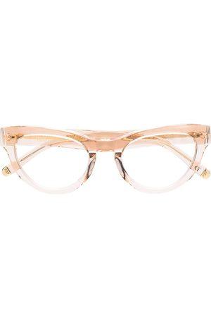 Retrosuperfuture Cat-eye frame glasses - NEUTRALS