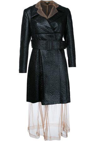Comme des Garçons Sheer under layer coat dress