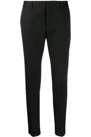 Saint Laurent Satin stripe tailored trousers