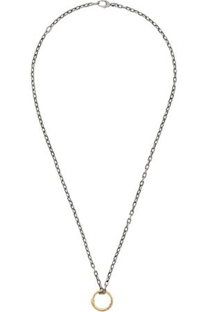 Gucci Necklaces - Snake ring pendant necklace - 8170