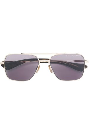 DITA EYEWEAR Flight squared sunglasses - Metallic