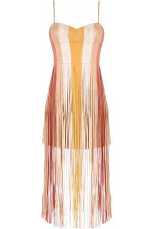 NK Fringe dress - Neutrals