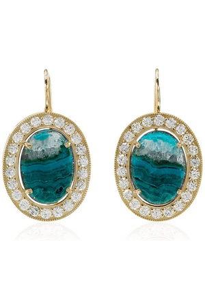 Andrea Fohrman Opal and diamond earrings