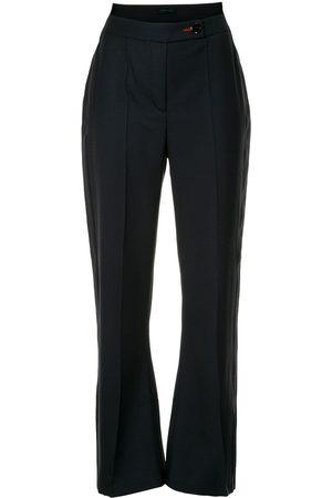 EUDON CHOI High rise flared trousers