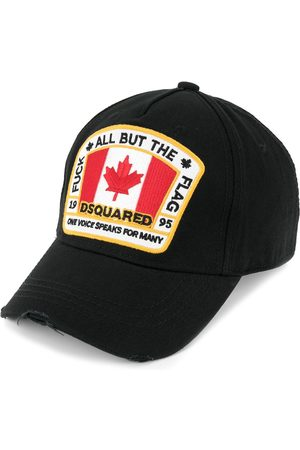 Dsquared2 Men Hats - Canadian flag patch baseball cap