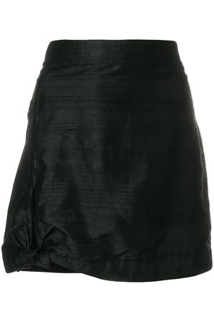 Giorgio Armani Pre-Owned Women Mini Skirts - Side tie mini skirt
