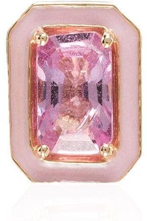 ALISON LOU Women Earrings - 14kt yellow sapphire stud earring