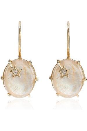 Andrea Fohrman Mini Galaxy quartz earrings