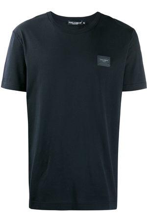 Dolce & Gabbana Men T-shirts - Logo-plaque T-shirt