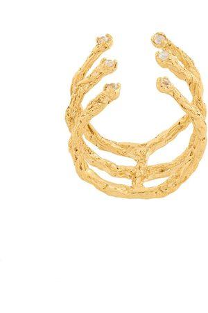 NIZA HUANG Moments 6 stone ring - Metallic