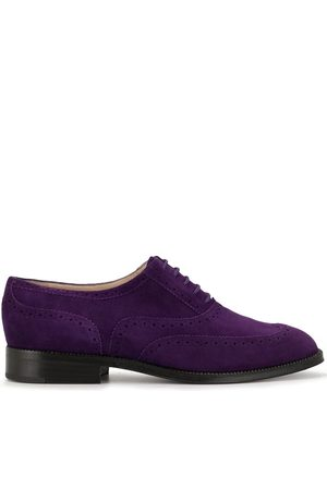 Chanel Pre-Owned Women Brogues - CC textured brogues