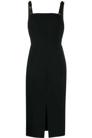 Tom Ford Women Party Dresses - Leather straps fitted dress