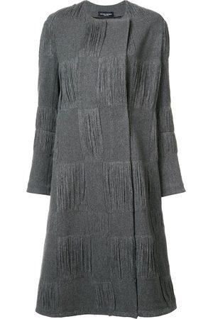 Narciso rodriguez Textured check coat