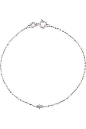 WOUTERS & HENDRIX 18kt white gold baguette diamond bracelet - Metallic