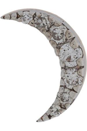 Milka 14kt rose Moon Piercing diamond stud