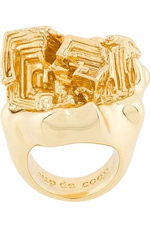 Coup De Coeur Women Rings - Vortex stone ring - Metallic