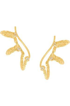 NIZA HUANG Moment Climber earrings - Metallic