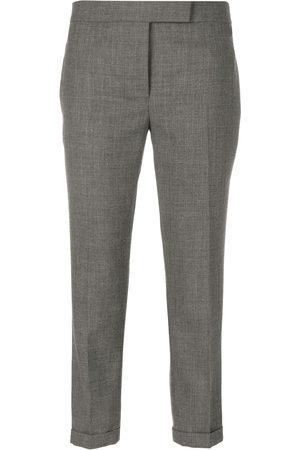 Thom Browne Women Formal Trousers - Lowrise Skinny Trousers In Medium 2-Ply Wool Fresco