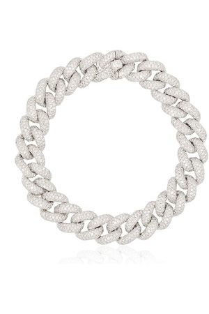 Shay 18kt and diamond 6.5 inch link bracelet