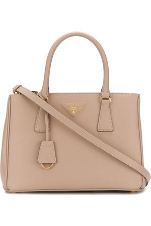 Prada Women Handbags - Galleria tote bag - Neutrals