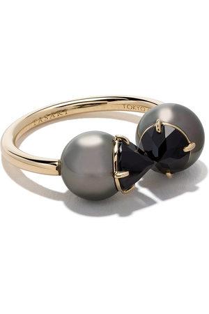 TASAKI Women Rings - 18kt refined rebellion signature black spinel Ring