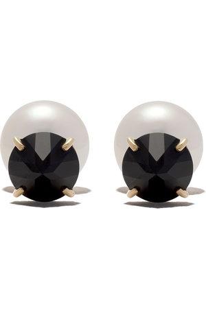 Tasaki Women Earrings - 18kt refined rebellion black spinel Earrings