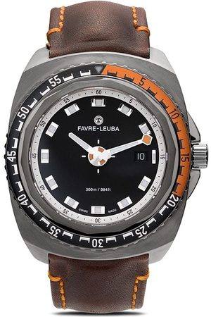 Favre Leuba Men Watches - Deep Blue 44mm - GUNMETAL