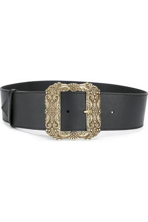 Etro Oversized square buckle belt