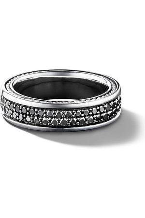 David Yurman Streamline two row pavé diamond band ring - SSABD