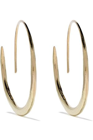 WOUTERS & HENDRIX 18kt hammered hoop earrings