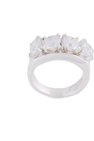 E.M. Oversized ring - Metallic