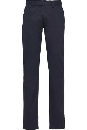 Prada Low rise straight jeans