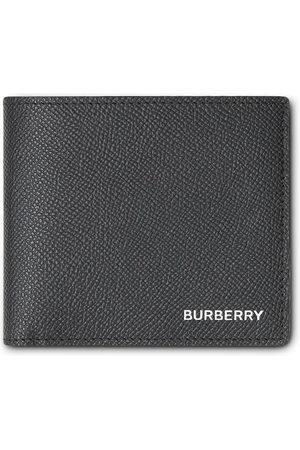 Burberry Men Purses & Wallets - Grainy Leather International Bifold Coin Wallet