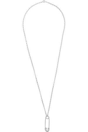 TRUE ROCKS Women Necklaces - Long safety pin pendant necklace