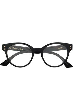 Dior Round logo glasses
