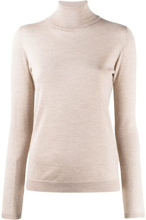 Brunello Cucinelli Roll neck sweatshirt - Neutrals