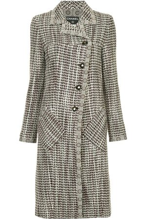 CHANEL Tweed midi coat