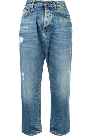 R13 Bain distressed boyfriend jeans