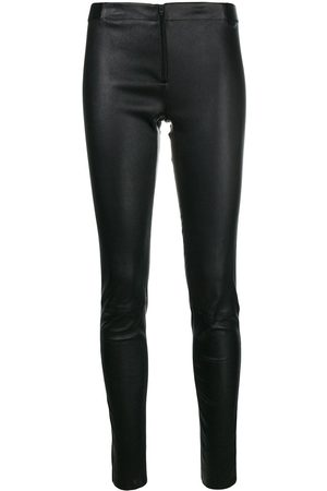 ALICE+OLIVIA Women Leather Trousers - Skinny leather trousers