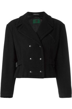 Jean Paul Gaultier Women Blazers - 1988 cropped double-breasted jacket