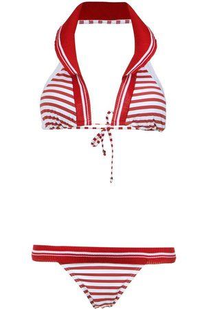 Amir Slama Women Bikinis - Printed halterneck bikini set